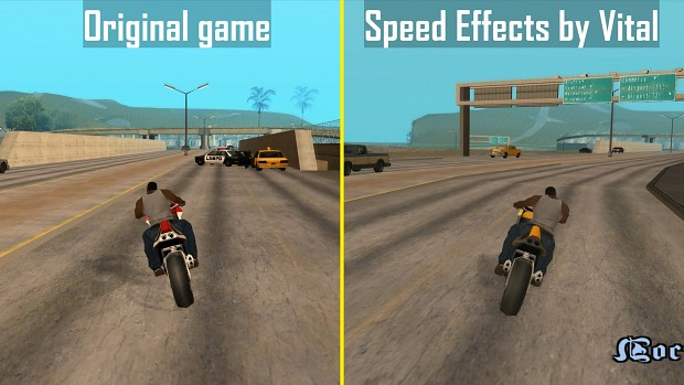 Speed effects