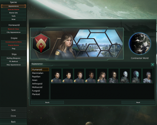 Split human races 2.0