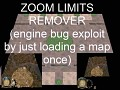 Remove Zoom Limits - Exploit Map