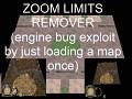 Remove Zoom Limits - Exploit Map