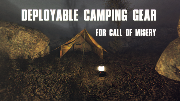 Deployable Camping Gear CoM
