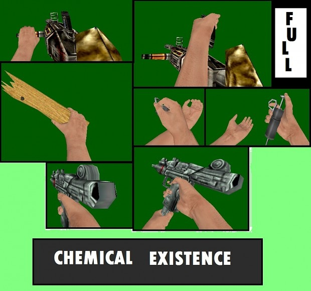 Chemical Existence Reanimated Weapons +Rumpel hand