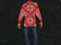 Marked One gets a christmas sweater