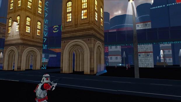 Coruscant: Downtown Battle