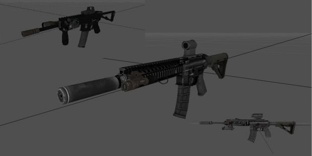 MOHW MK18 and HK416 with CSS KAC PDW