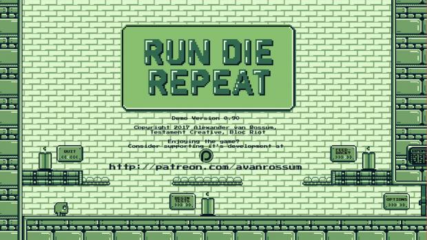 Run Die Repeat - Demo - MAC v 0.90
