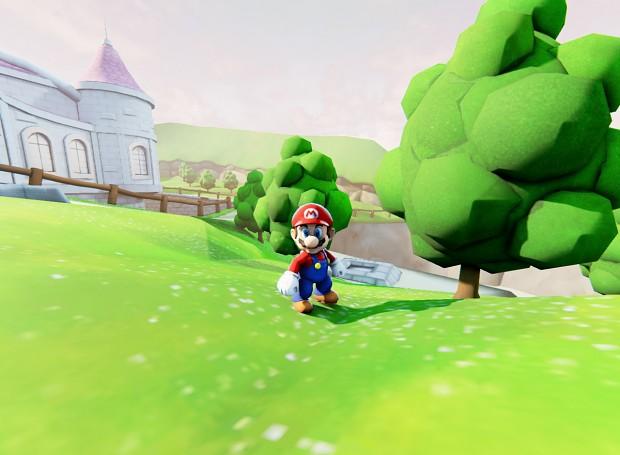 Super Mario 64 Peachs Castle Ultra