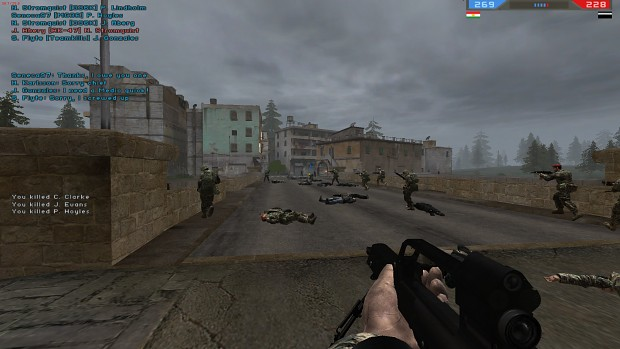 Urban Conflict: Bodies Stay Mod (For Version 1.4)