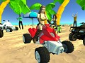 3D Quad Racing Girls 1 3