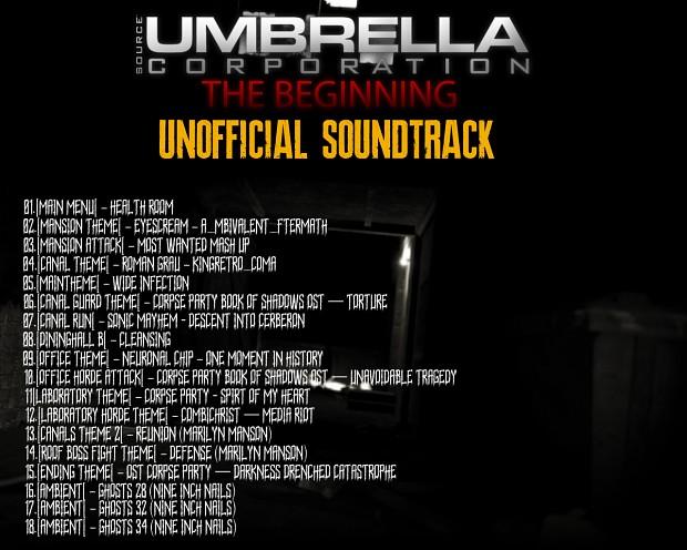 Umbrella Corporation: The Beginning Soundtrack