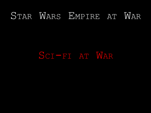 Star Wars Sci-Fi at War: Silver Edition