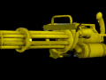 Minigun Dourada