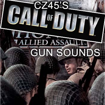 CZ45's MOH:AA gun sounds for CoD1/UO