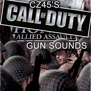 CZ45's MOH:AA gun sounds for CoD1/UO v1.13