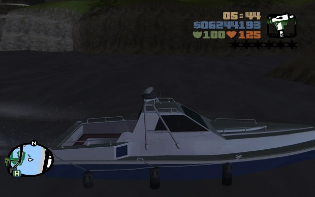 GTA III HD Ghost