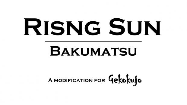 Rising Sun Single-player Alpha 1.0