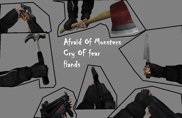 Cry Of Fear Hands For Afraid Of Monsters - DC