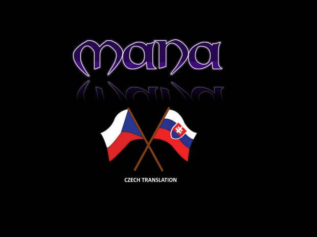 MANA - CZECH translation