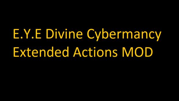EYE Extended Actions v1
