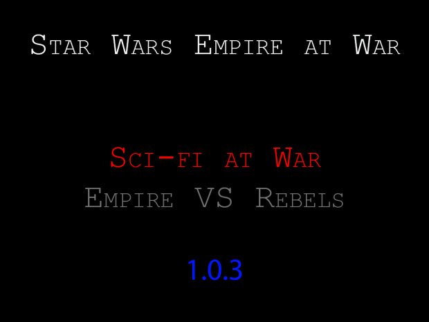 Star Wars Sci-Fi at War: Silver Edition 1.0.3