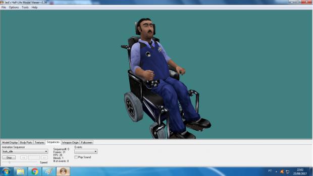 security wheelchair