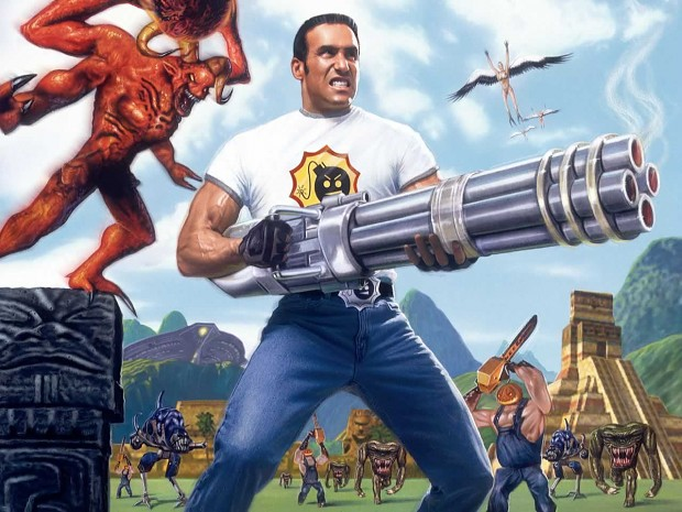 Sam Stone voice pack (Serious Sam)