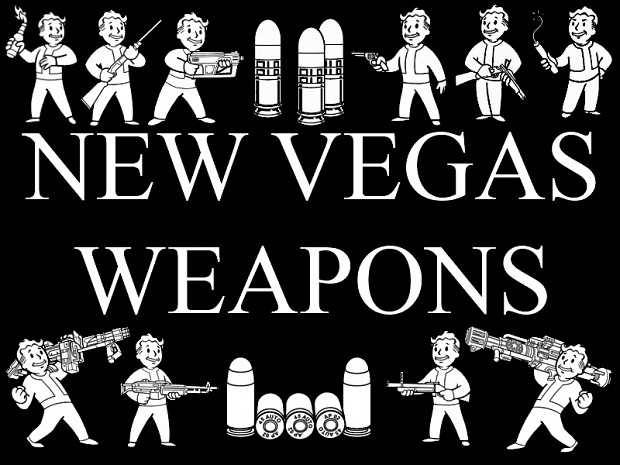 New Vegas Weapons (v2.5 Russian)