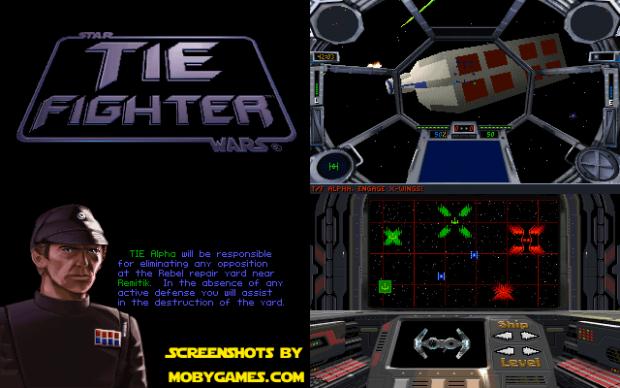 Star Wars: TIE Fighter Pre-release Demo
