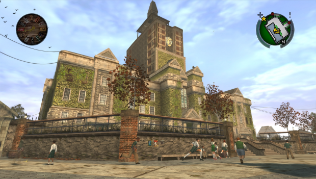 Bully HD Texture Overhaul Mod School Only