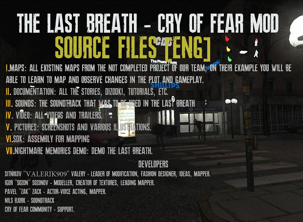 The Last Breath Source Files[ENG]