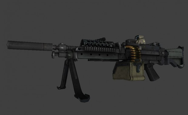 BF4 M249 Pack