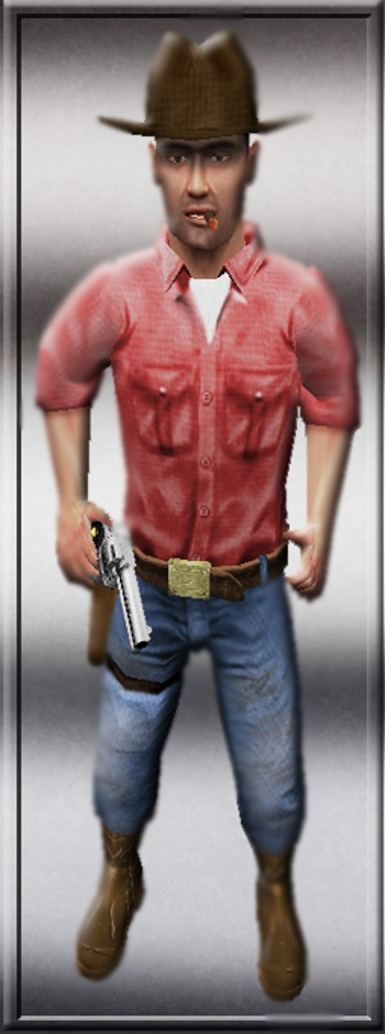 Aydin's Cowboy Barney mod3l