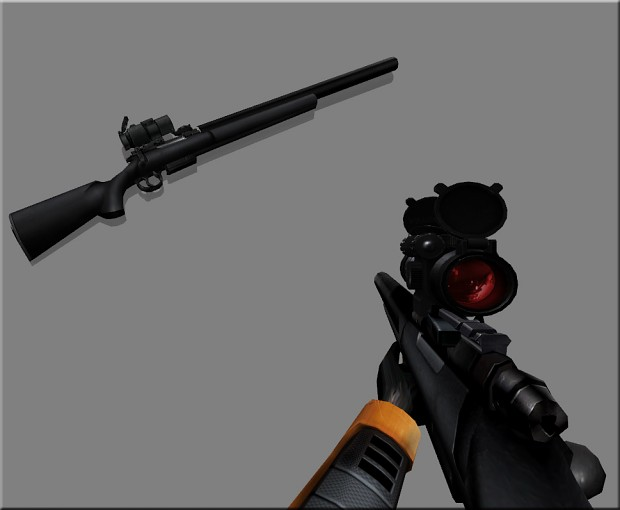 SEBURU SIRIS Silenced Sniper Rifle