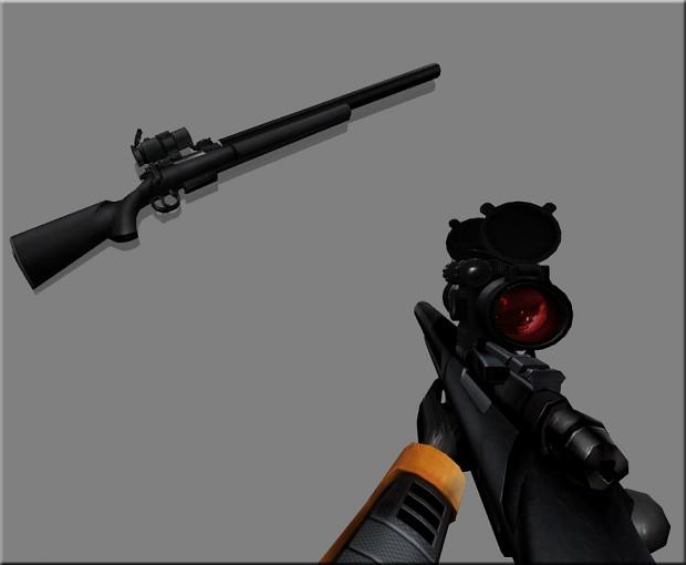 SEBURU SIRIS Silenced Sniper Rifle