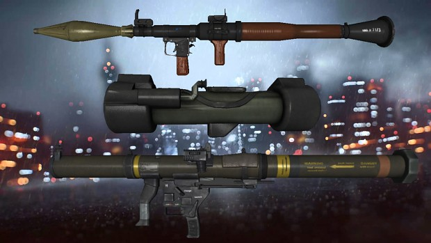 BF4 AT Rocket Launchers Pack ***FIX***