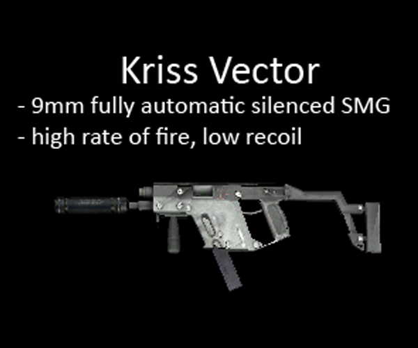 Kriss Vector for multiplayer servers