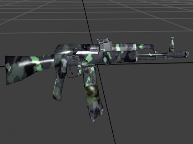AK101 SKINS HD