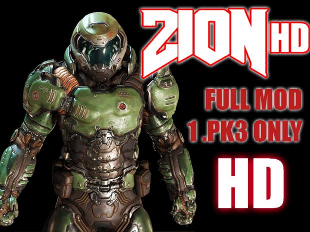 ZION v8 Alpha HD Mod (Only 1 Full .pk3) (692mb)