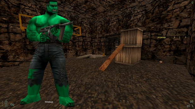 Incredible Hulk Thug Skin