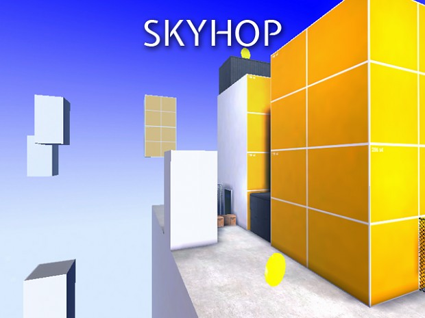 SkyHop - A parkour jump map