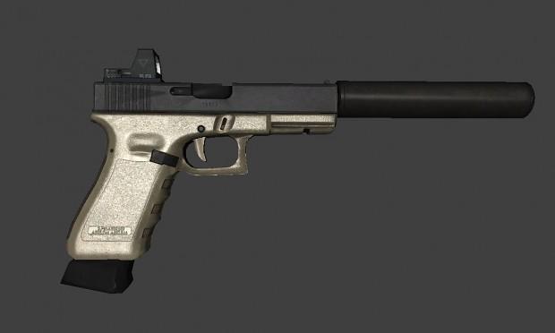 BF4 Glock-18 Pack