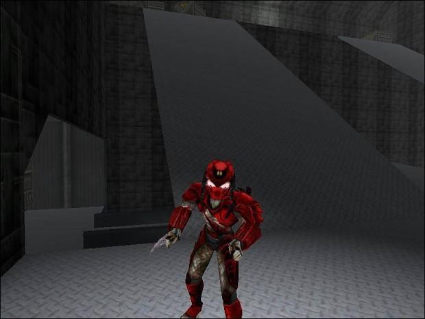 Big Red Samurai Predator