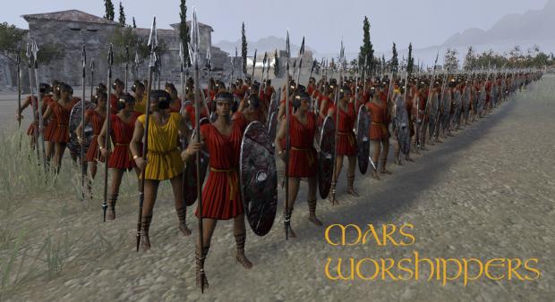 Mars Worshippers: Rome Total War II.