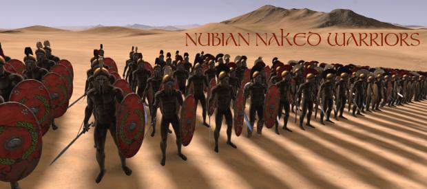 Nubian naked warriors