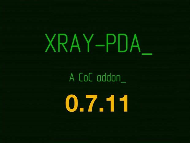 XRay PDA v0.7.11