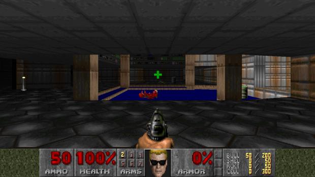 Duke Nukem Mugshot for Doom 1 & 2