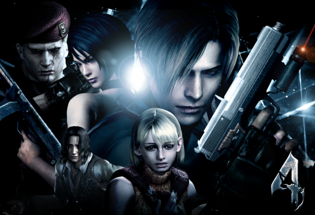 Resident Evil 4 High Poly Characters