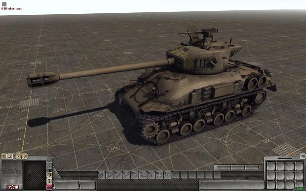 """以色列M-51""""超级谢尔曼""""中型坦克"""