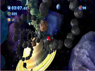 Asteroid Coaster Act 1 for classic sonic stage