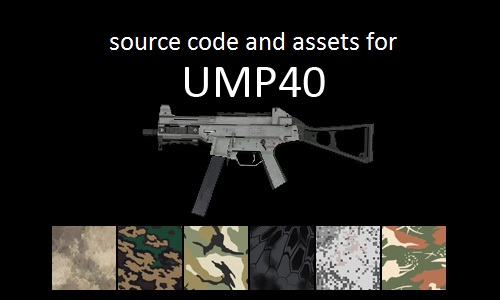 Complete UMP40 Source Code and Assets